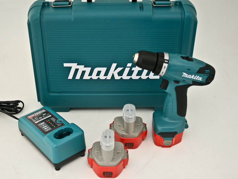 makita 6271 dwpe3 12v bohrschrauber set incl 3x 1 3ah akku 6271 ebay. Black Bedroom Furniture Sets. Home Design Ideas
