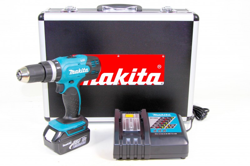 makita bhp453rfx lxt 18v akku schlagbohrschrauber set ebay. Black Bedroom Furniture Sets. Home Design Ideas