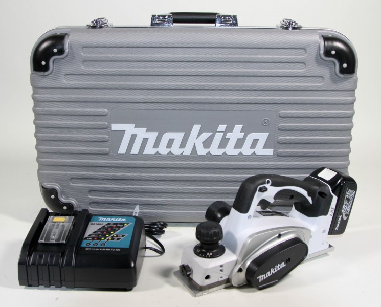 makita bkp180rfwx lxt18v akku hobel set 1 x 3 0 ah limited white ebay. Black Bedroom Furniture Sets. Home Design Ideas