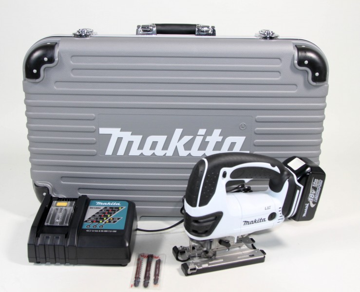 makita bjv180 rfwx lxt 18v akku stichs gen set 1 x 3 0ah limited white ebay. Black Bedroom Furniture Sets. Home Design Ideas