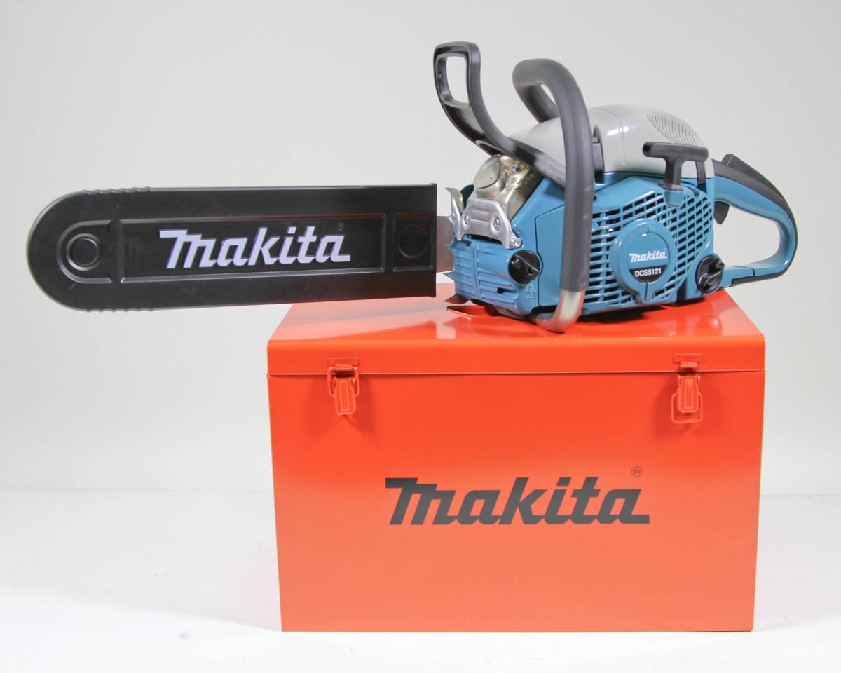 makita dcs5121 45 benzin kettens ge 45cm 2 4kw im metallkoffer ebay. Black Bedroom Furniture Sets. Home Design Ideas