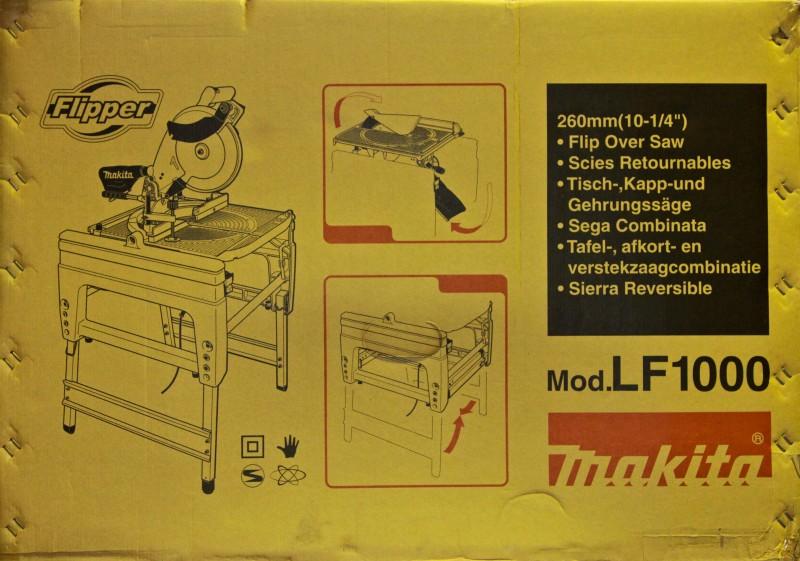 makita lf1000 tisch gehrungs und kapps ge flipper ebay. Black Bedroom Furniture Sets. Home Design Ideas